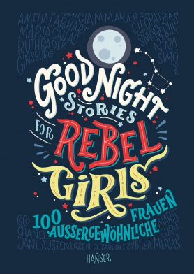"""Musikalische Lesung mit Maria Hafner, """"Good Night Stories for Rebel Girls"""""""